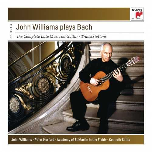 John Williams plays Bach. The Complete Lute Music on Guitar (FLAC)