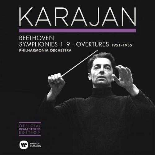 Karajan: Beethoven - Symphonies 1-9, Overtures (24/96 FLAC)