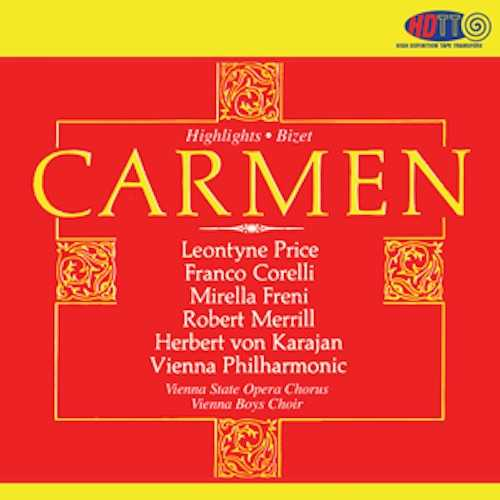 Karajan: Bizet - Carmen. Highlights (SACD DSF)