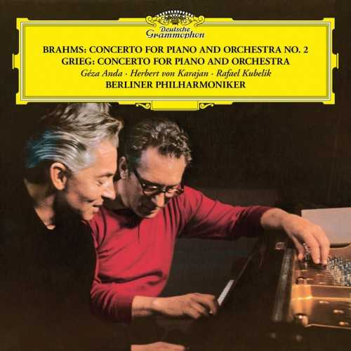 Karajan: Brahms, Grieg - Concerto for Piano and Orchestra (24/96 FLAC)