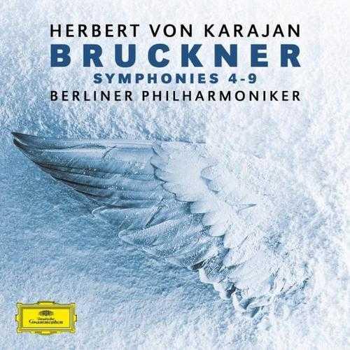 Karajan: Bruckner - Symphonies no.4-9 (24/192 FLAC)
