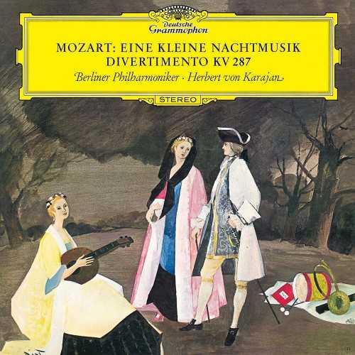 Karajan: Mozart - Eine Kleine Nachtmusik, Divertimento KV287 (24/96 FLAC)