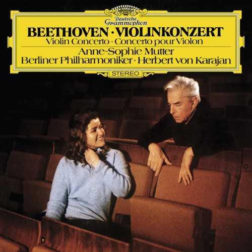 Karajan, Mutter: Beethoven - Violin Concerto (24/96 FLAC)