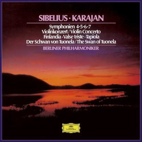 Karajan: Sibelius - Symphonies 4-7, Violin Concerto, Finlandia, The Swan of Tuonela (SACD DSF)