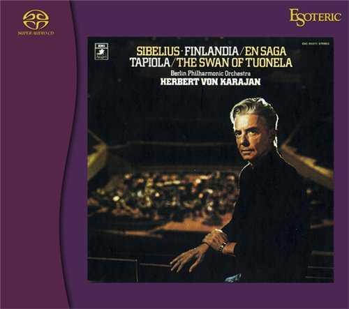 Karajan: Sibelius - Symphony no.2, The Swan of Tuonela, Finlandia (SACD)