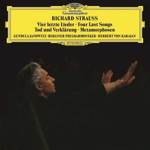 Karajan: Strauss - Vier letzte Lieder, Tod und Verklarung, Metamorphosen (24/96 FLAC)