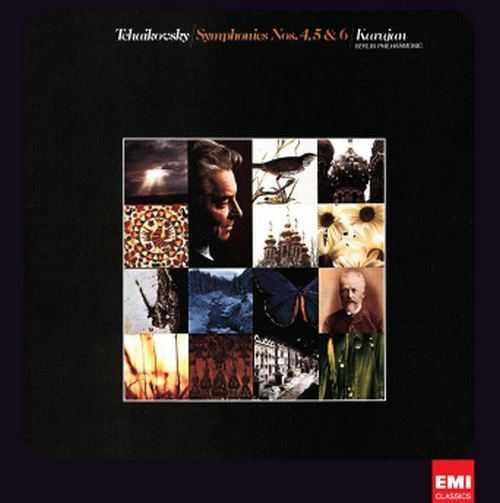 "Karajan: Tchaikovsky - Symphonies no.4,5,6 ""Pathethique"" (24/96 FLAC)"