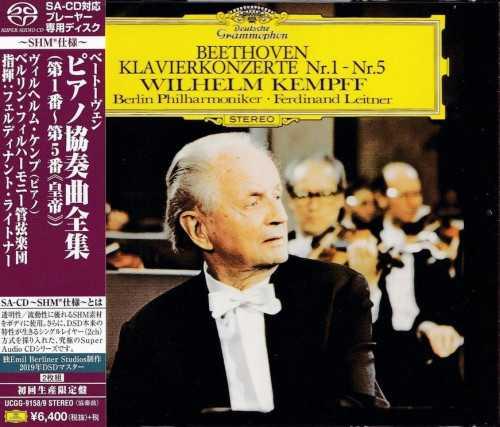 Leitner, Kempff: Beethoven - Piano Concertos no.1-5 (SACD)