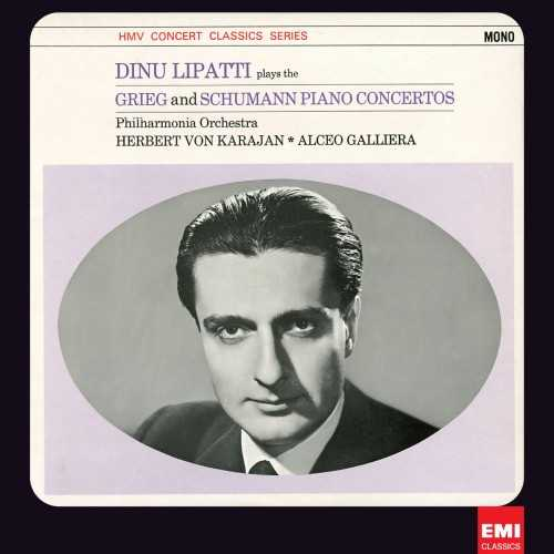 Karajan, Lipatti: Grieg, Schumann - Piano Concertos op.16,54 (24/96 FLAC)