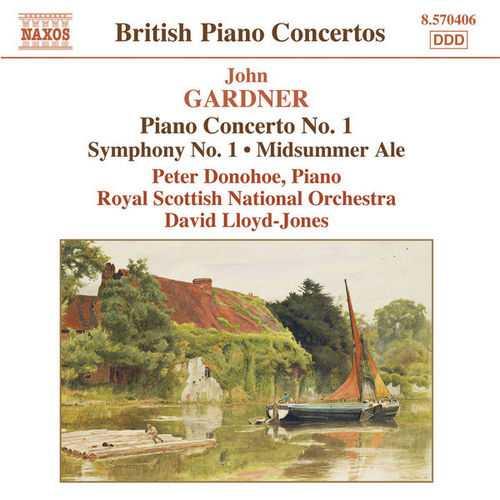 Lloyd-Jones: Gardner - Piano Concerto no.1, Symphony no.1, Midsummer Ale (24/44 FLAC)