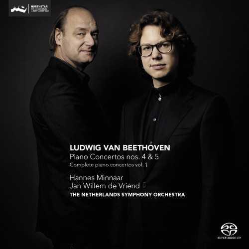 Minaar: Beethoven - Piano Concertos no.4,5 (24/352 FLAC)
