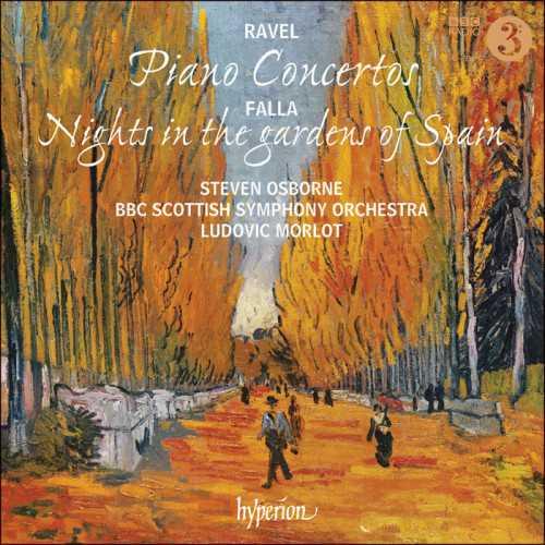 Morlot: Ravel - Piano Concertos, Falla - Nights in the gardens of Spain (24/96 FLAC)