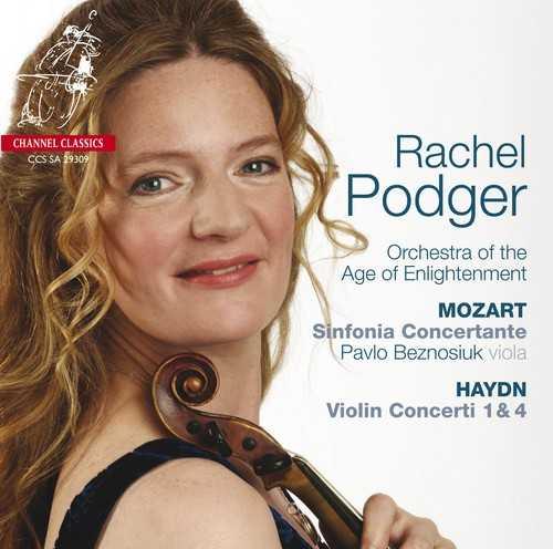 Podger, Beznosiuk: Mozart - Sinfonia Concertante, Haydn - Violin Concerti (24/96 FLAC)