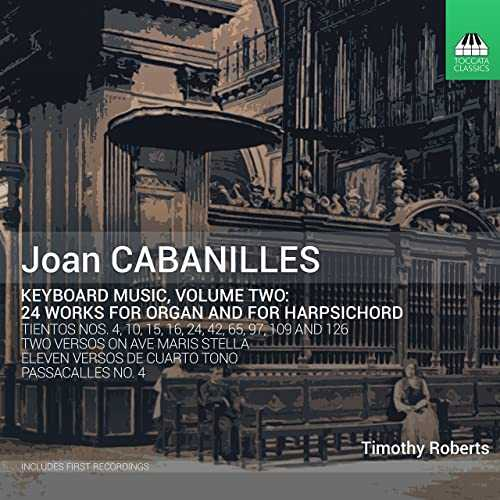 Roberts: Cabanilles - Keyboard Music vol.2 (24/44 FLAC)
