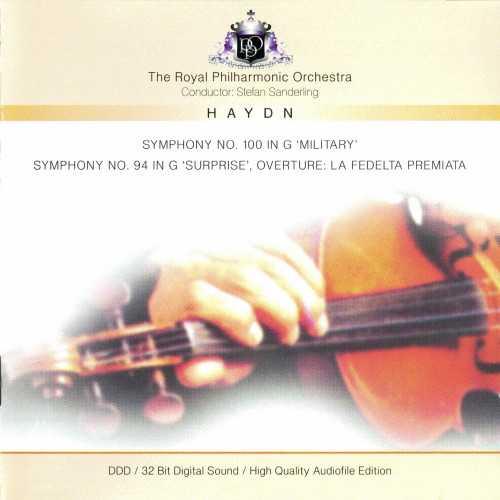 "Sanderling: Haydn - Symphony no.100 ""Military"", Symphony no.94 ""Surprise"", Overture: La Fedelta Premiata (FLAC)"