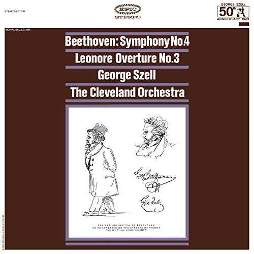 Szell: Beethoven - Symphony no.4, Leonore Overture (24/192 FLAC)