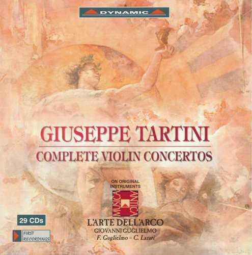 Tartini - Complete Violin Concertos (FLAC)