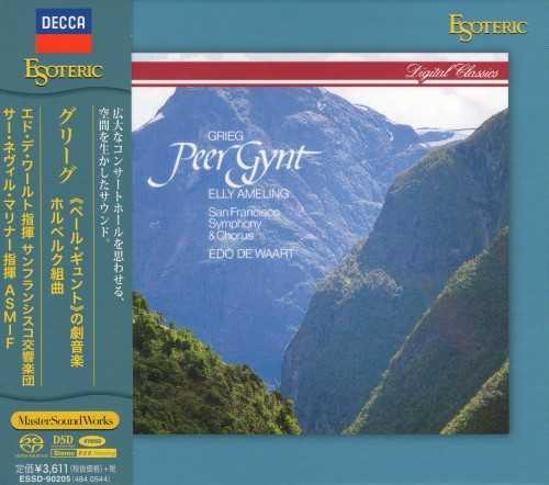 Marriner: Grieg - Peer Gynt op.23, Incidental music to Ibsen's play, Holberg Suite op.40 (SACD ISO)
