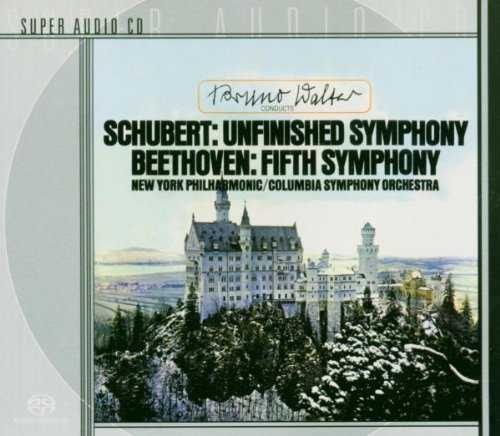 """Walter: Beethoven - Symphony no.5, Schubert - """"Unfinished"""" (SACD ISO)"""
