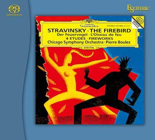Boulez: Stravinsky - Le Sacre du Printemps, L'Oiseau de Feu (SACD)