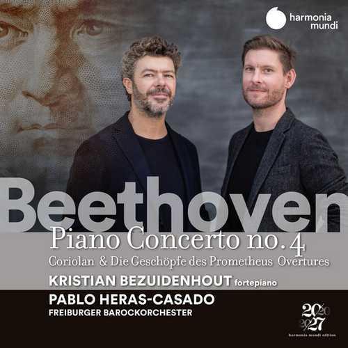 Heras-Casado: Beethoven - Piano Concerto no.4, Overtures (24/96 FLAC)