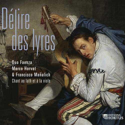 Horvat: Délire des lyres. Chant au luth et à la viole (24/88 FLAC)
