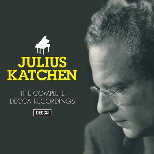 Julius Katchen: The Complete Decca Recordings (FLAC)
