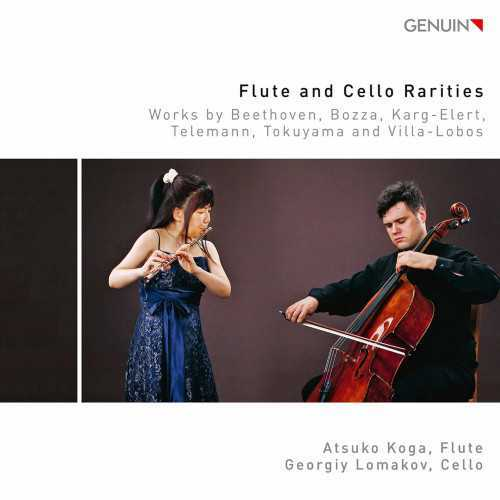 Koga, Lomakov: Flute and Cello Rarities (24/96 FLAC)