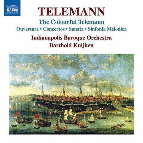 Kuijken: Telemann - The Colourful Telemann (24/96 FLAC)