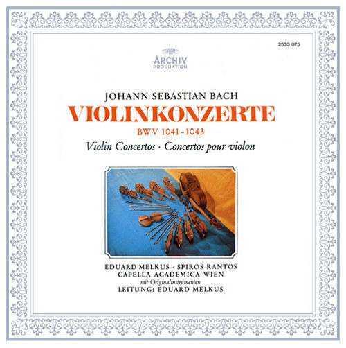 Melkus: Bach - Violinkonzerte BWV 1041-1043 (LP FLAC)