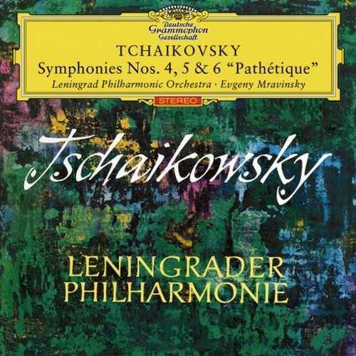 Mravinsky: Tchaikovsky - Symphonies no.4-6 (24/96 FLAC)