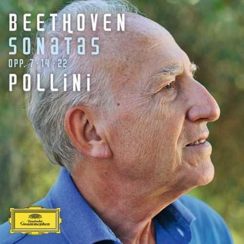 Pollini: Beethoven Sonatas op.7, 14, 22 (24/96 FLAC)