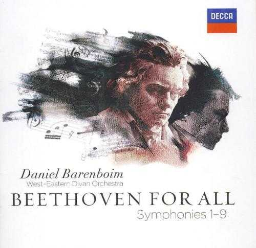 Barenboim: Beethoven For All. Symphonies 1-9 (24/96 FLAC)