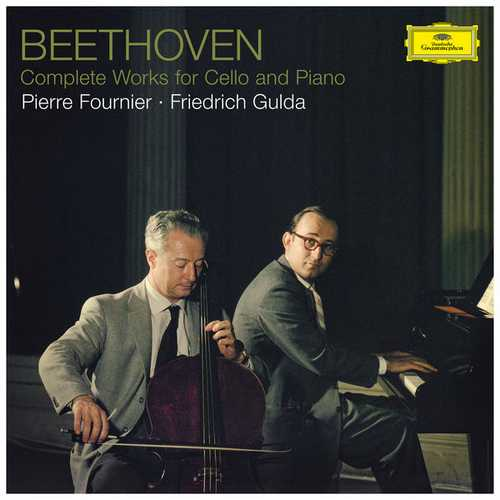 Gulda, Fournier: Beethoven - Complete Works for Cello and Piano (24/192 FLAC)