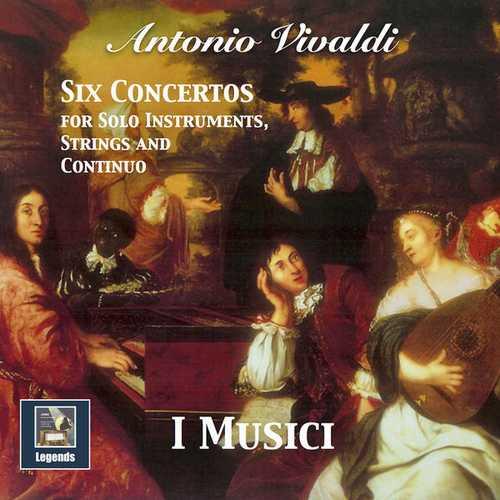 I Musici: Vivaldi - 6 Concertos for Solo Instruments, Strings & Continuo (24/48 FLAC)