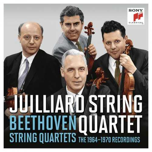 Juilliard String Quartet: The Beethoven Quartets 1964-1970. Remastered (24/96 FLAC)