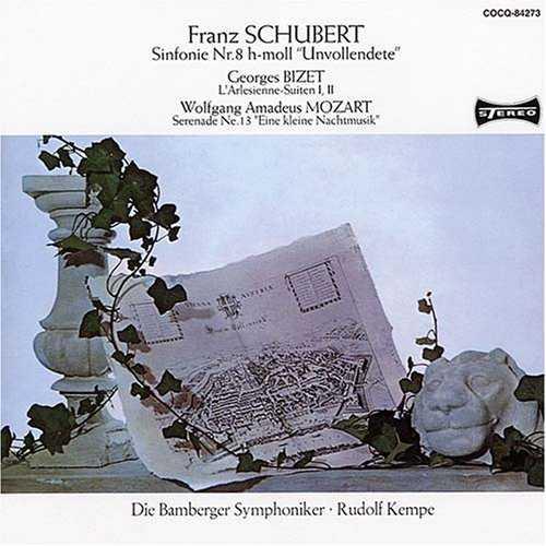 Kempe: Brahms - Symphony no.2, Schubert - Symphony no.8 (SACD)