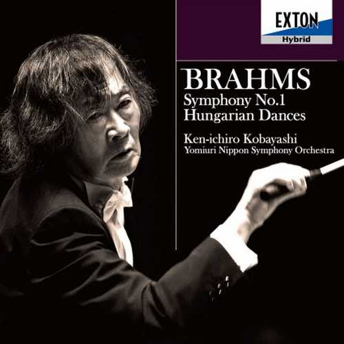 Kobayashi: Brahms - Symphony no.1, Hungarian Dances (24/192 FLAC)