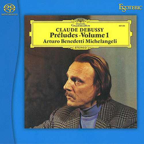 Michelangeli: Debussy - Preludes vol.1 (SACD)