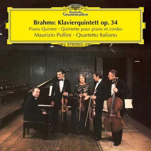 Quartetto Italiano, Pollini: Brahms - Piano Quintet op.34 (24/96 FLAC)