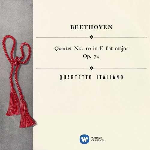 "Quartetto Italiano: Beethoven - String Quartet no.10 op.74 ""Harp"" (24/96 FLAC)"