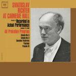 Sviatoslav Richter at Carnegie Hall: Prokofiev - Piano Works (24/88 FLAC)