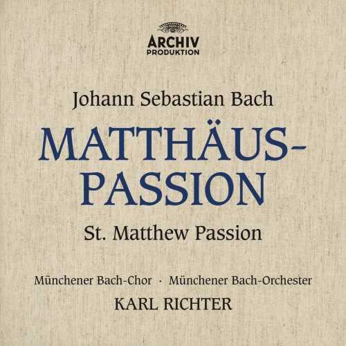 Richter: Bach - Matthäus-Passion (24/96 FLAC)