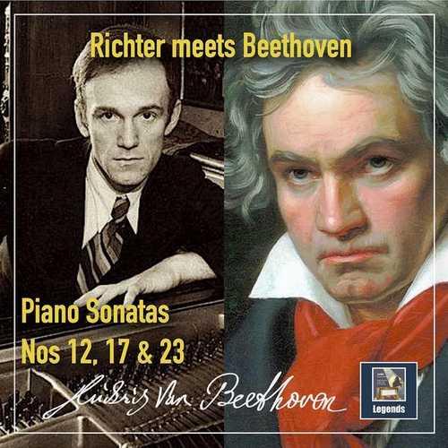 Richter meets Beethoven. Sonatas for piano no.12, 17 & 23 (24/48 FLAC)