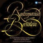 Rostropovich, Bernstein: Schumann - Cello Concerto, Bloch - Schelomo (24/96 FLAC)