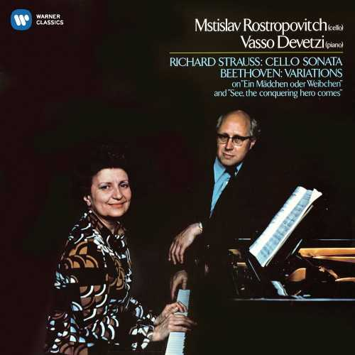 Rostropovich, Devetzi: Beethoven - Cello Variations, Strauss - Cello Sonata (24/96 FLAC)