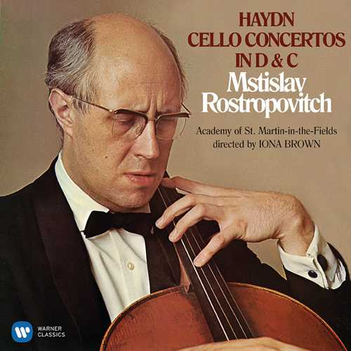 Rostropovich, Brown: Haydn - Cello Concertos in D & C (24/96 FLAC)