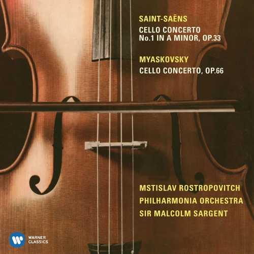 Rostropovich, Sargent: Saint-Saens, Miaskovsky - Cello Concerto op.33, 66 (24/96 FLAC)