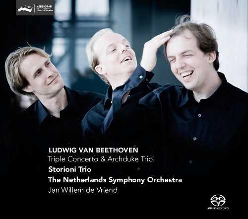 Storioni Trio, Vriend: Beethoven – Triple Concerto, Archduke Trio (SACD)