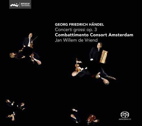 Vriend: Handel - Concerti Grossi op.3 (SACD)